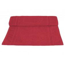Tapete para Banheiro Camesa Pegada Vermelho