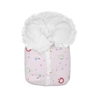 Porta Bebê Bambi Estampado Rosa