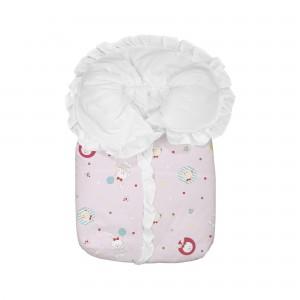 Saco Porta Bebê Bambi Estampado Rosa