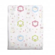 Cobertor para Bebê Bercinho 70 x 90 cms Estampado Rosa