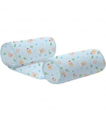 Rolinho Segura Bebê Turma da Monica Baby Estampado Cebolinha e Cascão