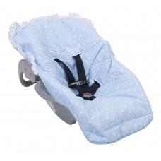 Capa para Bebê Conforto Bambi Azul