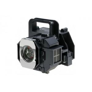Lâmpada Projetor Epson S5 Powerlite S5 /  EMP S5 / ELPLP41 Com Capa