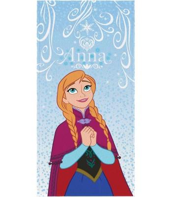 Toalha de Banho Infantil Felpuda Anna Frozen