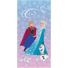 Toalha de Banho Infantil Felpuda Elsa e Anna Frozen