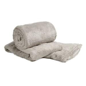 Cobertor de Casal Microfibra Sultan 180grs 1,80 x 2,00 mts Caqui