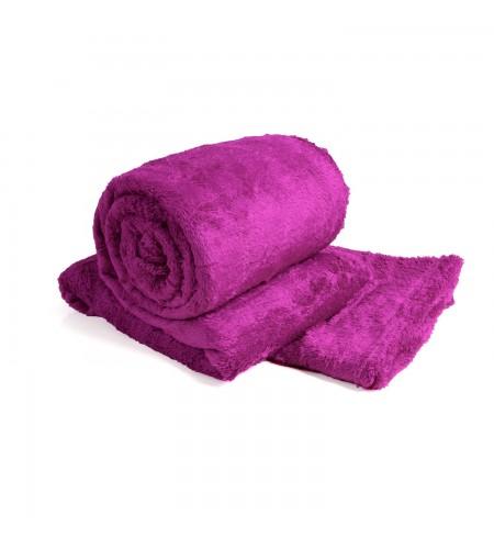 Cobertor de Casal Microfibra Sultan 180grs 1,80 x 2,00 mts Rosa