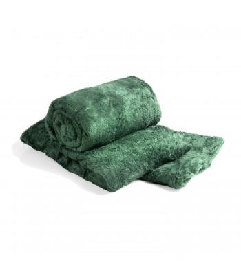 Cobertor de Casal Microfibra Sultan 180grs 1,80 x 2,00 mts Verde