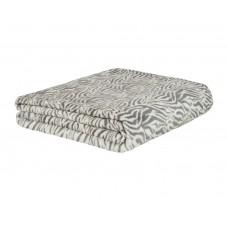 Cobertor de Casal Estampado Microfibra Sultan 180grs 1,80 x 2,00 mts Cinza