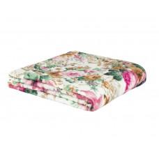 Cobertor de Casal Estampado Microfibra Sultan 180grs 1,80 x 2,00 mts Rosa Floral
